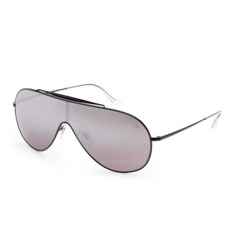 Men's Wings Sunglasses // 33mm // Black Frame