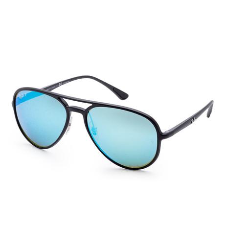 Unisex Designer Sunglasses // 58mm // Matte Black Frame