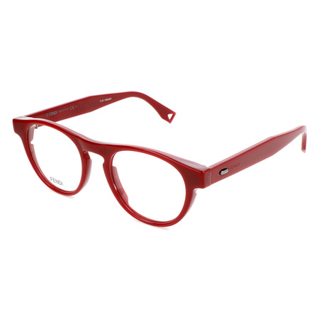 Men's 0015 Optical Frames // Red