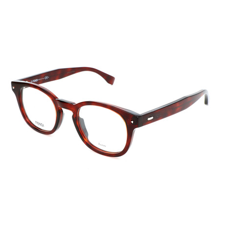 Men's 0217 Optical Frames // Red Havana