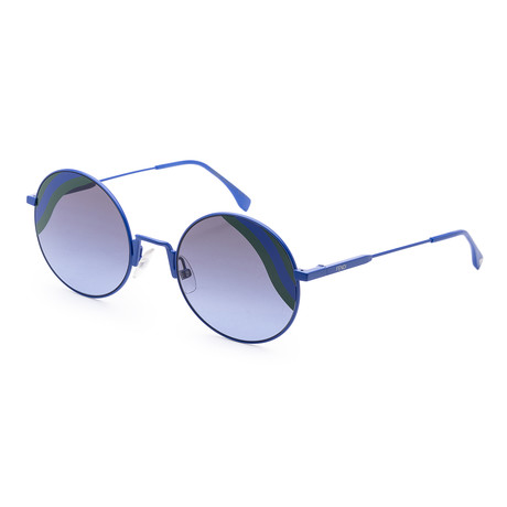 Women's Fashion Sunglasses // 53mm // Blue Frame
