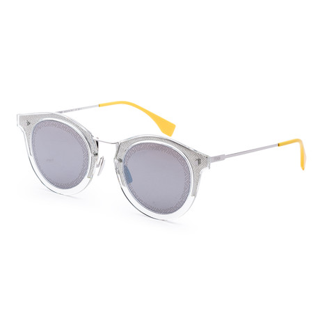 Men's Fashion Round Sunglasses // 47mm // Palladium Frame
