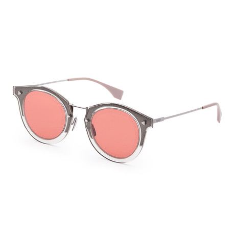 Men's Fashion Sunglasses // 47mm // Gray + Red Frame