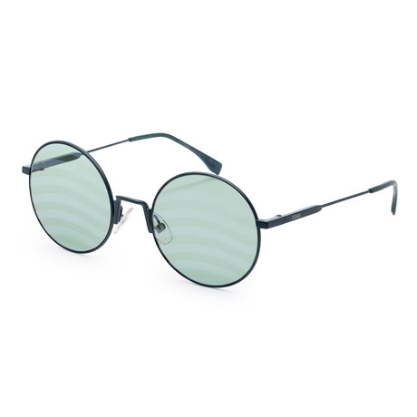 Women's Fashion Sunglasses // 53mm // Green Frame
