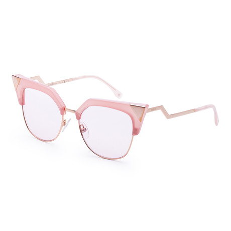 Women's Fashion Sunglasses // 54mm // Pink Frame