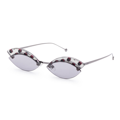 Women's Fashion Sunglasses // 58mm // Gray Frame
