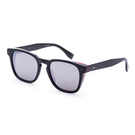 Men's Fashion Sunglasses // 52mm // Black + Red Frame