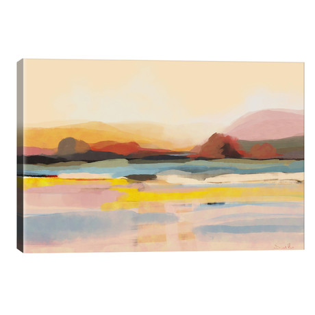 """Country View // Dan Hobday (40""""W x 26""""H x 1.5""""D)"""