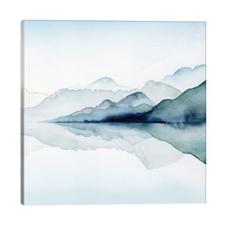 "Glacial II // Grace Popp (26""W x 26""H x 1.5""D)"