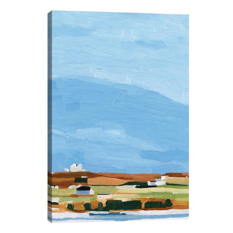 """Color Field Landscape II // Emma Scarvey (26""""W x 40""""H x 1.5""""D)"""