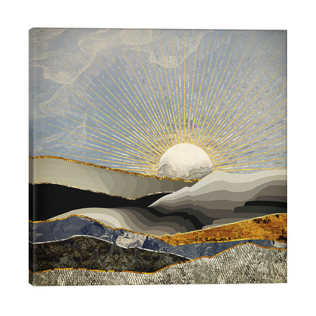 """Morning Sun // SpaceFrog Designs (26""""W x 26""""H x 1.5""""D)"""
