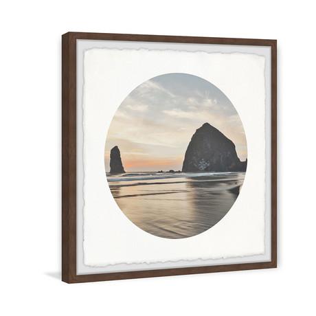 """Coastal Rock (12""""W x 12""""H x 1.5""""D)"""