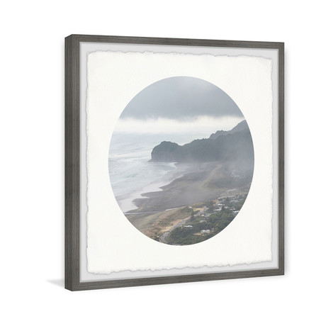 "Foggy Coast (12""W x 12""H x 1.5""D)"