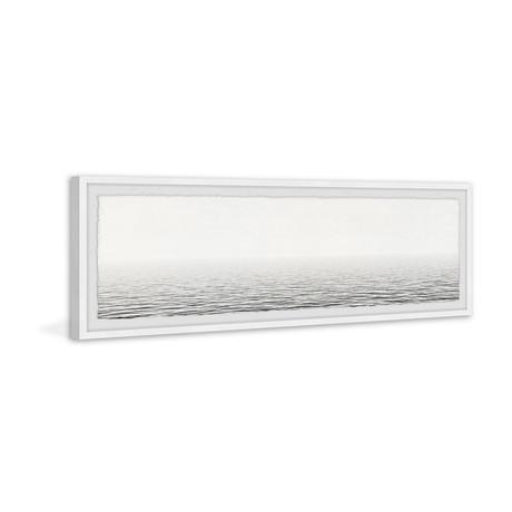"White Panoramic Sea (30""W x 10""H x 1.5""D)"