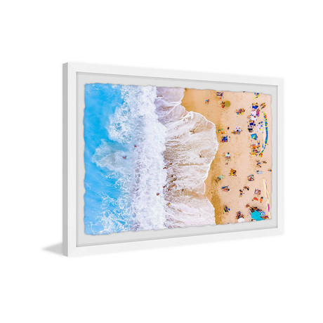 """Seaside Wave (12""""W x 8""""H x 1.5""""D)"""