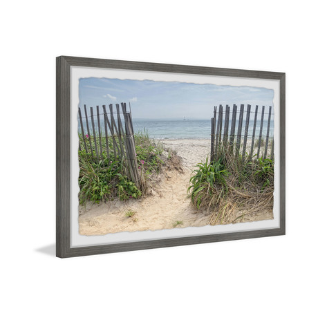 "Beach Entrance (12""W x 8""H x 1.5""D)"