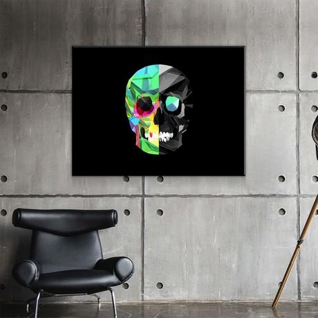 "Fractal Skull (24""W x 18""H x 0.75""D)"