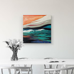 """Dark Seas (20""""W x 20""""H x 1.5""""D // Gallery Wrapped)"""