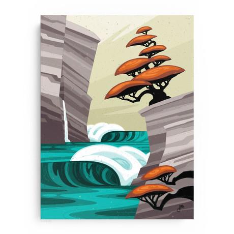 """Bonsai Paradise (18""""W x 24""""H x 1.5""""D // Gallery Wrapped)"""
