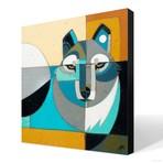 "Lobo 3 (20""W x 20""H x 1.5""D // Gallery Wrapped)"