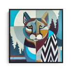 """Lion of the Mountain (20""""W x 20""""H x 1.5""""D // Gallery Wrapped)"""