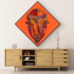 """Bison (20""""W x 20""""H x 1.5""""D // Gallery Wrapped)"""