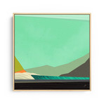 """Sea Space 3 (20""""W x 20""""H x 1.5""""D // Gallery Wrapped)"""