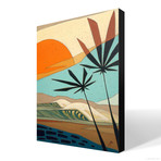 "Palm Life (18""W x 24""H x 1.5""D // Gallery Wrapped)"