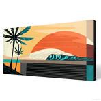 "Tropic Sol (24""W x 12""H x 1.5""D // Gallery Wrapped)"