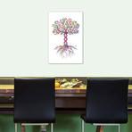 """DNA Tree // Genefy Art (26""""W x 40""""H x 1.5""""D)"""