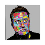 "Musk // TECHNODROME1 (26""W x 26""H x 1.5""D)"