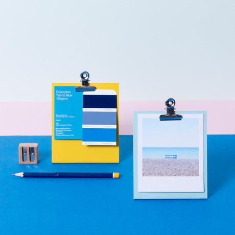 Metal Clipboard Frame // Small (Light Blue)