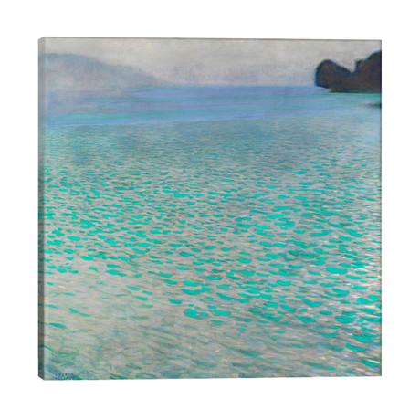 """Attersee (Lake Attersee) // Gustav Klimt (26""""W x 26""""H x 1.5""""D)"""