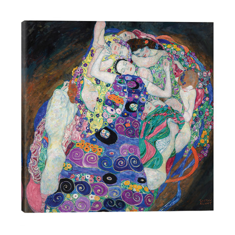 "The Virgin, 1913 // Gustav Klimt (26""W x 26""H x 1.5""D)"