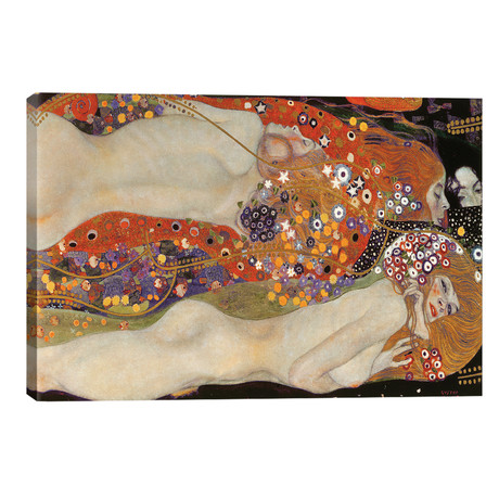 Water Serpents II, 1904-07 // Gustav Klimt