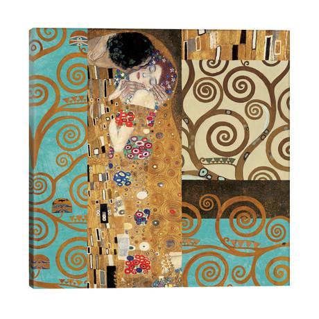 "Klimt 150 Anniversary IV // Gustav Klimt (26""W x 26""H x 1.5""D)"