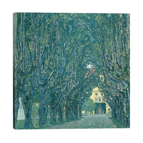 Avenue in the Park of Schloss Kammer, 1912 // Gustav Klimt