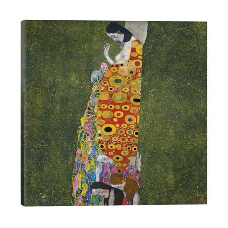 """Klimt: Hope, Ii // Gustav Klimt (26""""W x 26""""H x 1.5""""D)"""