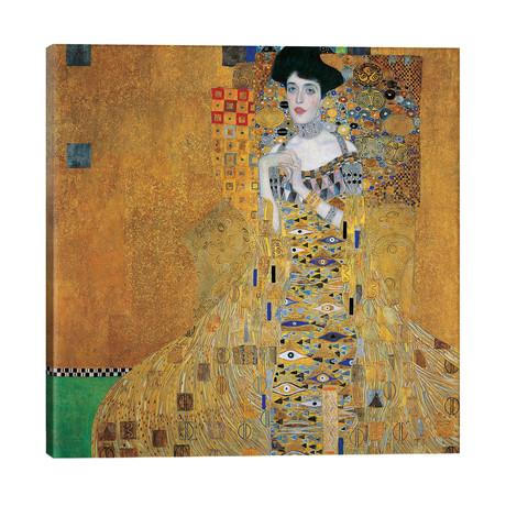 "Portrait Of Adele Bloch-Bauer I, 1907 // Gustav Klimt (26""W x 26""H x 1.5""D)"
