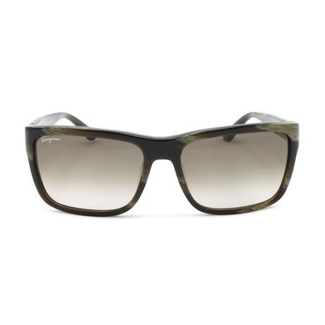 Men's Sunglasses // 58mm // Striped Khaki
