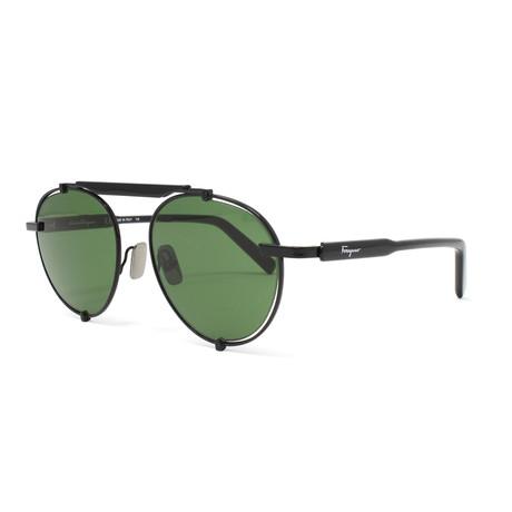 Men's Sunglasses // 52mm // Black