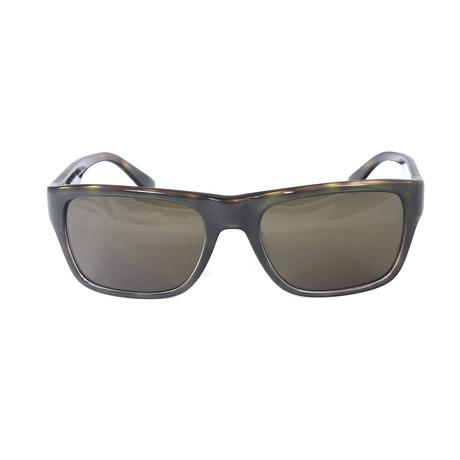 Men's Sunglasses // 54mm // Green Tortoise