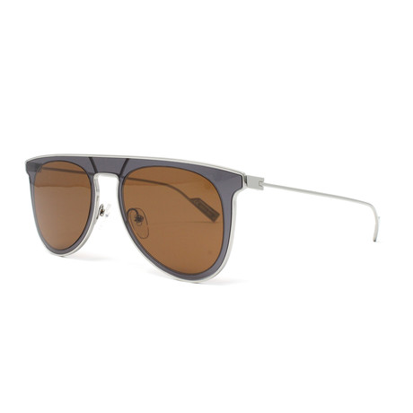 Men's Sunglasses // 53 mm // Gray + Brown