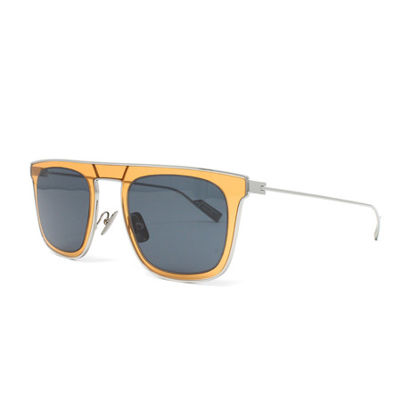 Men's Sunglasses // 51mm // Blue + Orange
