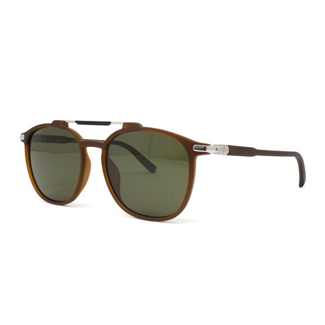 Men's Sunglasses // 54mm // Matte Brown