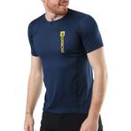 Zip Polo // Navy Blue (M)