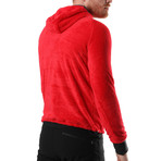 Whitney Sweatshirt // Red (XL)
