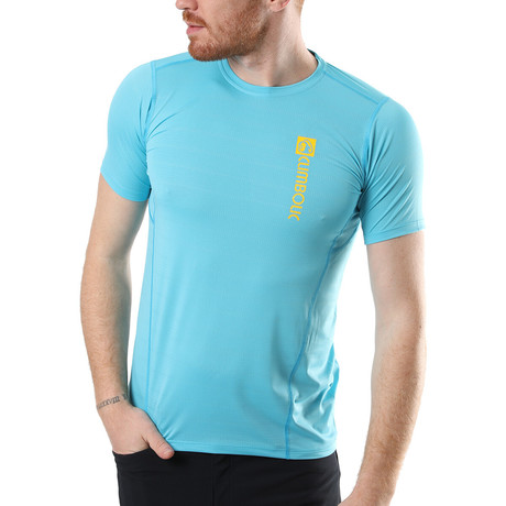 Zip Polo // Sky Blue (XS)