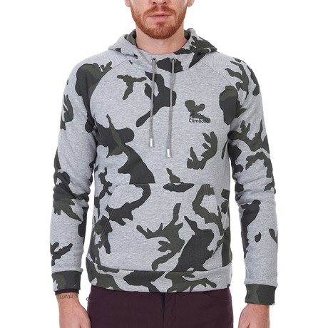 Pikes Sweatshirt // Camouflage (XS)