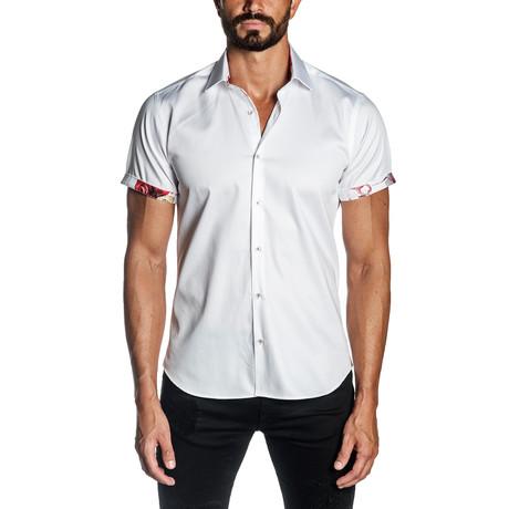 Tahoe Short Sleeve Shirt // White (S)